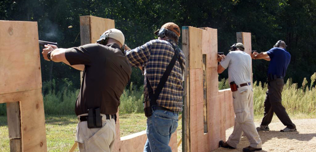 Midwest Training Group Shooting from behind a Barricade